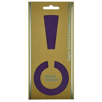 mimimamo ストレッチヘッドカバーL/Purple [MHC-002-PL]