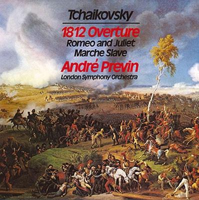 アンドレ・プレヴィン/チャイコフスキー: 序曲「1812年」、スラヴ行進曲、幻想序曲「ロメオとジュリエット」、マンフレッド交響曲<タワーレコード限定>[TDSA-106]