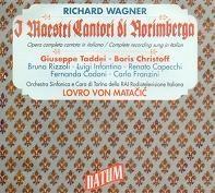Wagner: I Maestri Cantori di Norimberga / Matacic, Christoff