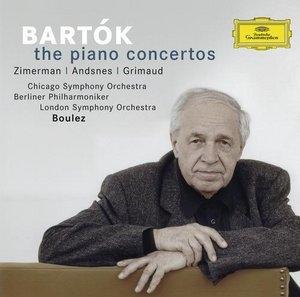 ピエール・ブーレーズ/Bartok: Piano Concerto No.1-No.3 / Pierre Boulez(cond), BPO, Leif Andsnes(p), etc[4775330]