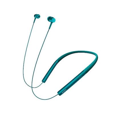 SONY ハイレゾ対応 マイク付イヤホン h.ear in Wireless MDR-EX750BT ビリジアンブルー [MDREX750BTLM]