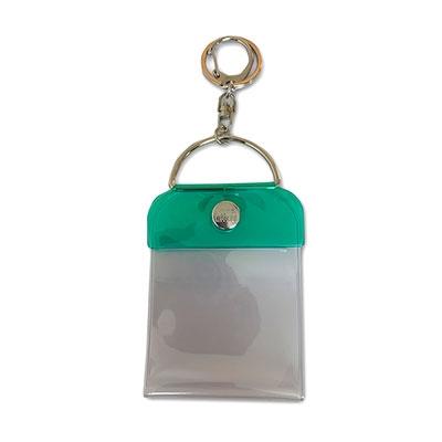 タワレコ 缶バッジキーホルダー57mm用 Green[MD01-5816]
