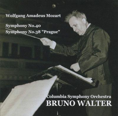ブルーノ・ワルター/Mozart: Symphony No.38, No.40 [GS2108]