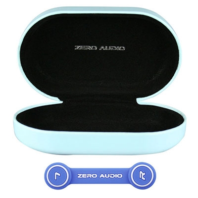 ZERO AUDIO BANECHOイヤホンケース(ヘッドホンクリップ付)/グロスライトブルー [ZA-BN-GLB]