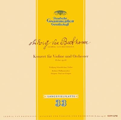 ヴォルフガング・シュナイダーハン/ベートーヴェン: ヴァイオリン協奏曲; モーツァルト: ヴァイオリン協奏曲第5番《トルコ風》<タワーレコード限定>[PROC-1708]