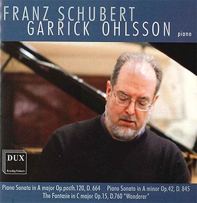 ギャリック・オールソン/シューベルト: ピアノ・ソナタ集 - 第13番、第16番、幻想曲 D.760 Op.15 《さすらい人》[DUX0930]