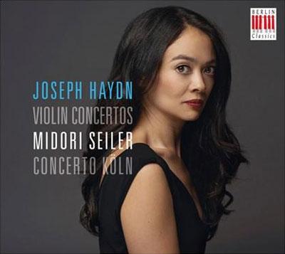 ミドリ・ザイラー/Haydn: Violin Concertos; J.P.Salomon: Romance [0300550BC]