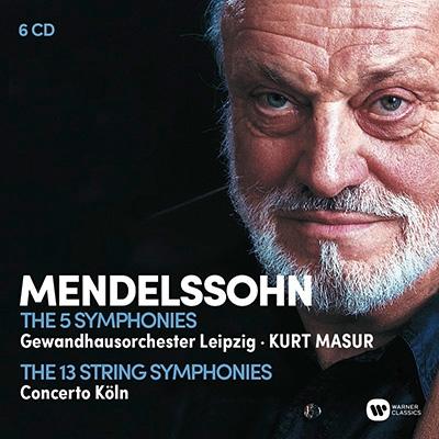 クルト・マズア/Mendelssohn: The 5 Symphonies [9029597490]