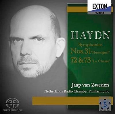 ハイドン:交響曲 第31番「ホルン信号」 第72番 第73番「狩」<数量限定盤>
