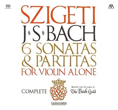 J.S.バッハ: 無伴奏ヴァイオリンのためのソナタとパルティータ(全曲)