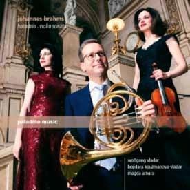 ブラームス: ホルン三重奏曲&ヴァイオリン・ソナタ<期間限定盤> CD