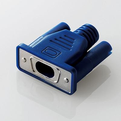 CABLE MANIA D-Sub15ピン/ブルー[P-APLTDCNDSUB]
