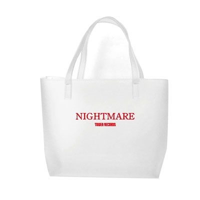 NIGHTMARE (J-Pop)/NIGHTMARE × TOWER RECORDS クリアトートバッグ レッド[MD01-5885]