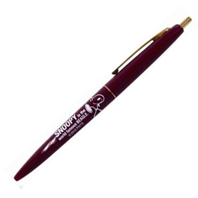 SNOOPY BICボールペン/No.2 ブラウン×ブラウン [SPS143]