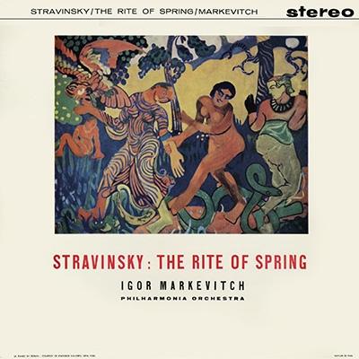 イーゴリ・マルケヴィチ/ストラヴィンスキー: 春の祭典; チャイコフスキー: くるみ割り人形組曲, ロメオとジュリエット (全曲ステレオ) [TDSA-22]