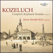 キム・ジェニー・ソジン/Kozeluch: Complete Keyboard Sonatas Vol.1[BRL94770]
