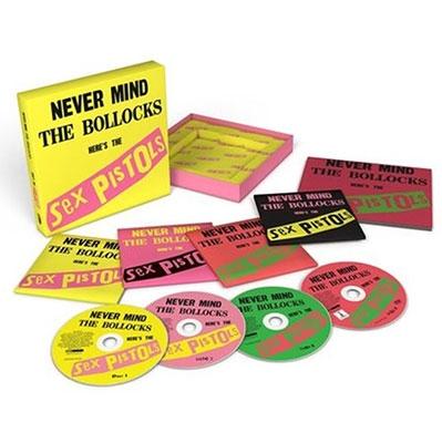 Never Mind The Bollocks: 40th Anniversary Deluxe Edition [3CD+DVD]<限定盤> CD