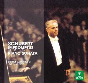 ダニエル・バレンボイム/Schubert: Impromptus, Piano Sonata No.21<初回限定生産盤>[2564633280]