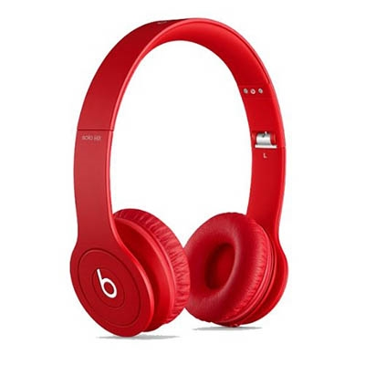 beats by dr.dre Solo HD オンイヤー・ヘッドフォン Matte Red