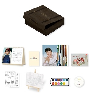 The Boyz 2020 Season's Greetings [THE AZIT] [CALENDAR+DVD+GOODS] Book