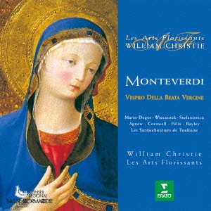 ウィリアム・クリスティ/モンテヴェルディ:聖母マリアの夕べの祈り [WPCS-16187]