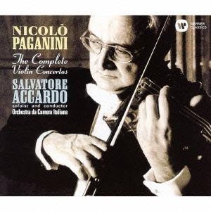 サルヴァトーレ・アッカルド/パガニーニ:ヴァイオリン協奏曲全集 [WPCS-50370]