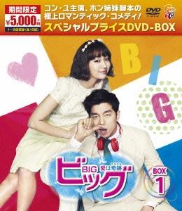 コン・ユ/ビッグ~愛は奇跡~ DVD-BOX1 [TCED-2756]