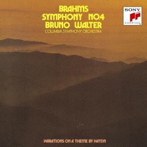 ブルーノ・ワルター/ブラームス:交響曲第4番/ハイドン変奏曲 [Blu-spec CD2] [SICC-30313]