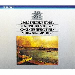 ニコラウス・アーノンクール/ヘンデル:合奏協奏曲作品3&6(全曲) [WPCS-13598]