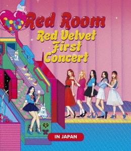 Red Room Red Velvet First Concert IN JAPAN [スマプラ付] Blu-ray Disc