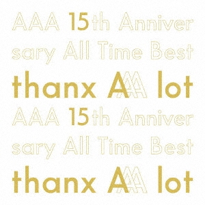 AAA 15th Anniversary All Time Best -thanx AAA lot- [5CD+フォトブック]<初回生産限定盤> CD
