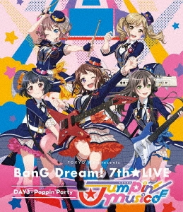 Poppin'Party/TOKYO MX presents BanG Dream! 7th★LIVE DAY3:Poppin'Party「Jumpin' Music♪」[BRMM-10233]