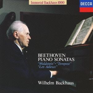 不滅のバックハウス1000: ベートーヴェン:3大ピアノ・ソナタ Vol.2 《ワルトシュタイン》 《テンペスト》 CD