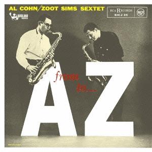 Al Cohn/フロム・A・トゥ・Z +4<期間生産限定スペシャルプライス盤>[SICJ-25]