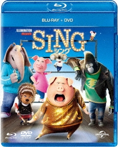 ガース・ジェニングス/SING/シング [Blu-ray Disc+DVD]<通常版> [GNXF-2253]