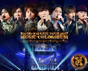 LIVE TOUR 2017 MUSIC COLOSSEUM Blu-ray Disc