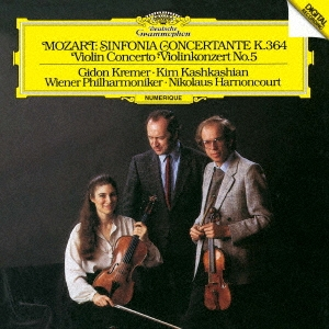 ギドン・クレーメル/モーツァルト:ヴァイオリン協奏曲第5番≪トルコ風≫ 協奏交響曲K.364[UCCG-51065]