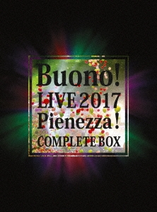 Buono! LIVE 2017 Pienezza! COMPLETE BOX [2Blu-ray Disc+4CD+ライブ写真集]<初回生産限定盤> Blu-ray Disc