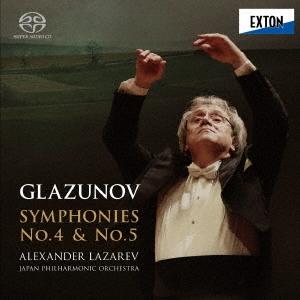 グラズノフ:交響曲 第4番&第5番 SACD Hybrid