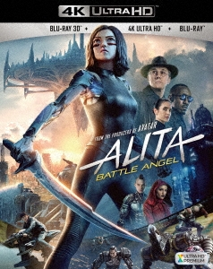 ロバート・ロドリゲス (監督)/アリータ:バトル・エンジェル [4K Ultra HD Blu-ray Disc+3D Blu-ray Disc+Blu-ray Disc]<初回仕様>[FXHA-83297X]