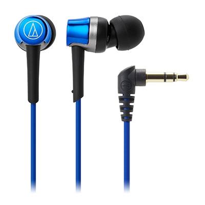 audio-technica インナーイヤーヘッドホン ATHCKR30 Blue[ATHCKR30BL]