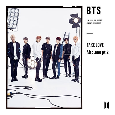 FAKE LOVE/Airplane pt.2 [CD+DVD]<初回限定盤B> 12cmCD Single