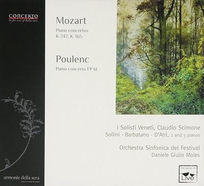 クラウディオ・シモーネ/モーツァルト: 3台のピアノのための協奏曲 ...