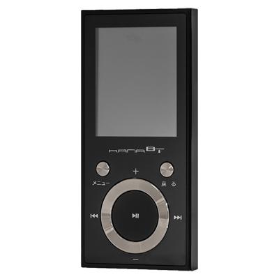 グリーンハウス Bluetooth MP3プレーヤー 16GB/Black
