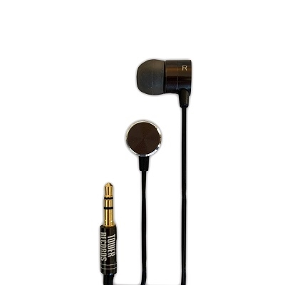 TOWER RECORDS METAL SOUND Hi-RES EARPHONE