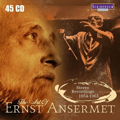 エルネスト・アンセルメの芸術~ステレオ・レコーディングス 1954-1963年