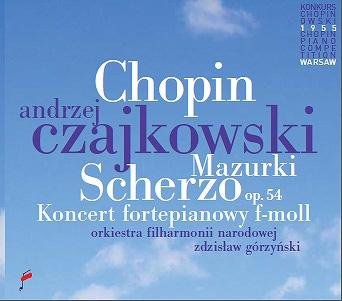 Chopin: Scherzo Op.54, Mazurki, Koncerto Fortepianowy f-moll