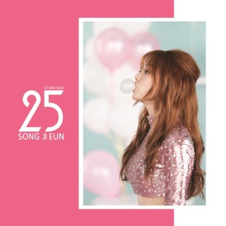 Song Ji Eun (Secret)/25: 1st Mini Album (Type B)[L200001051]