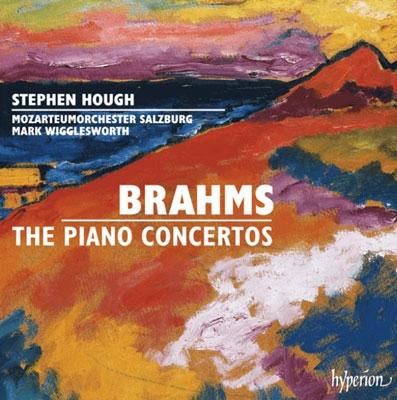 スティーヴン・ハフ/Brahms: The Piano Concertos [CDA67961]