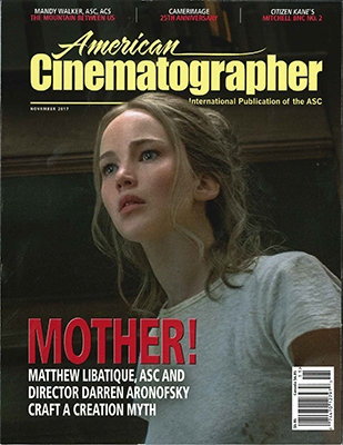 AMERICAN CINEMATOGRAPHER 2017年11月号 [12797]